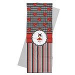 Ladybugs & Stripes Yoga Mat Towel (Personalized)