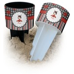 Ladybugs & Stripes Beach Spiker Drink Holder (Personalized)