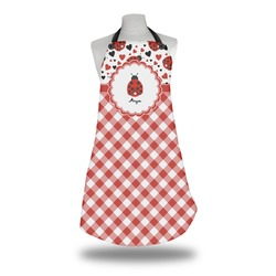 Ladybugs & Gingham Apron (Personalized)