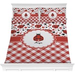 Ladybugs & Gingham Comforters (Personalized)