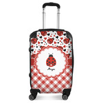 Ladybugs & Gingham Suitcase (Personalized)