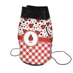Ladybugs & Gingham Neoprene Drawstring Backpack (Personalized)
