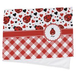 Ladybugs & Gingham Cooling Towel (Personalized)