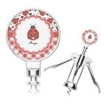 Ladybugs & Gingham Corkscrew (Personalized)