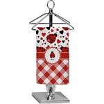 Ladybugs & Gingham Finger Tip Towel - Full Print (Personalized)