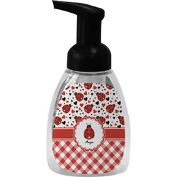 Ladybugs & Gingham Foam Soap Dispenser (Personalized)