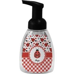 Ladybugs & Gingham Foam Soap Dispenser (Personalized)