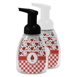 Ladybugs & Gingham Foam Soap Bottle (Personalized)