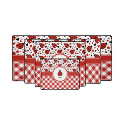 Ladybugs & Gingham Gaming Mouse Pad (Personalized)