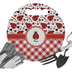 Ladybugs & Gingham Gardening Knee Cushion (Personalized)