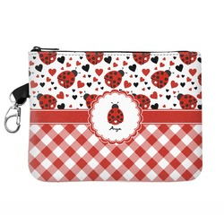 Ladybugs & Gingham Golf Accessories Bag (Personalized)