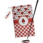 Ladybugs & Gingham Golf Towel Gift Set (Personalized)