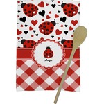 Ladybugs & Gingham Kitchen Towel - Full Print (Personalized)
