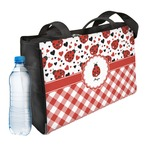 Ladybugs & Gingham Ladies Workout Bag (Personalized)