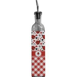 Ladybugs & Gingham Oil Dispenser Bottle (Personalized)