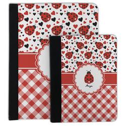 Ladybugs & Gingham Padfolio Clipboard (Personalized)