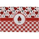 Ladybugs & Gingham Comfort Mat (Personalized)