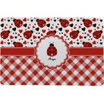 Ladybugs & Gingham Comfort Mat (Personalized)