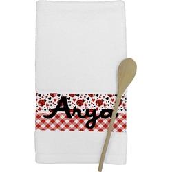 Ladybugs & Gingham Kitchen Towel (Personalized)