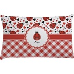 Ladybugs & Gingham Pillow Case - Standard (Personalized)