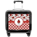 Ladybugs & Gingham Pilot / Flight Suitcase (Personalized)