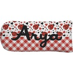 Ladybugs & Gingham Putter Cover (Personalized)
