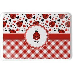 Ladybugs & Gingham Serving Tray (Personalized)