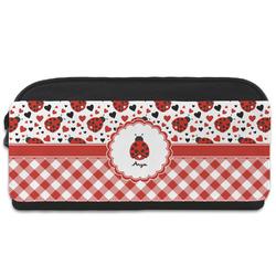 Ladybugs & Gingham Shoe Bag (Personalized)