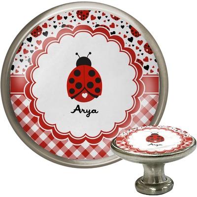 Ladybugs & Gingham Cabinet Knobs (Personalized)