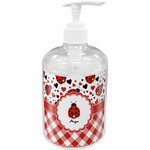 Ladybugs & Gingham Soap / Lotion Dispenser (Personalized)