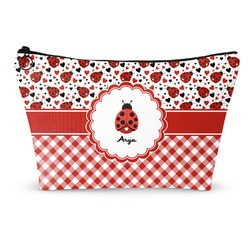 Ladybugs & Gingham Makeup Bags (Personalized)