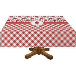 Ladybugs & Gingham Tablecloth (Personalized)