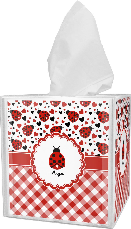Personalized Ladybugs /& Gingham Bathroom Accessories Set