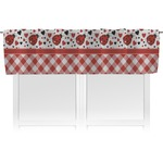Ladybugs & Gingham Valance (Personalized)