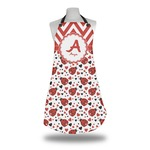 Ladybugs & Chevron Apron (Personalized)