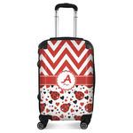 Ladybugs & Chevron Suitcase (Personalized)