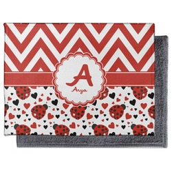 Ladybugs & Chevron Microfiber Screen Cleaner (Personalized)