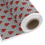 Ladybugs & Chevron Custom Fabric by the Yard (Personalized)