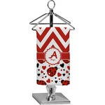 Ladybugs & Chevron Finger Tip Towel - Full Print (Personalized)