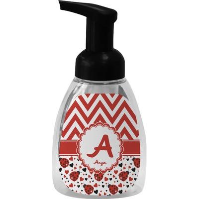 Ladybugs & Chevron Foam Soap Dispenser (Personalized)