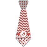 Ladybugs & Chevron Iron On Tie - 4 Sizes w/ Name and Initial