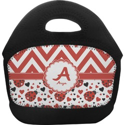 Ladybugs & Chevron Toddler Lunch Tote (Personalized)