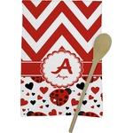 Ladybugs & Chevron Kitchen Towel - Full Print (Personalized)