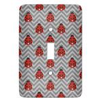 Ladybugs & Chevron Light Switch Covers (Personalized)