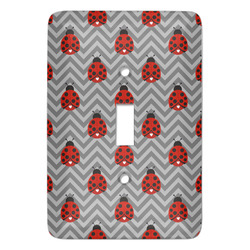 Ladybugs & Chevron Light Switch Covers - Multiple Toggle Options Available (Personalized)