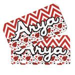 Ladybugs & Chevron Mini/Bicycle License Plates (Personalized)
