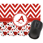Ladybugs & Chevron Mouse Pads (Personalized)