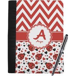 Ladybugs & Chevron Notebook Padfolio (Personalized)