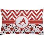 Ladybugs & Chevron Pillow Case (Personalized)