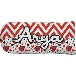 Ladybugs & Chevron Putter Cover (Personalized)